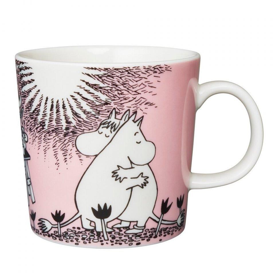 1005331 Moomin mug 0.3L Love 1