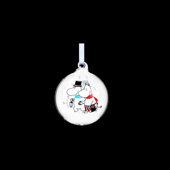 Muurla Moomin decoration ball 7cm – Evening walk 741-070-04 6416114965687